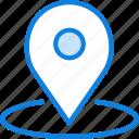 area, communication, essential, interaction, location icon