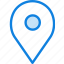 communication, interaction, essential, location icon