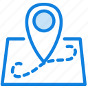 communication, essential, interaction, location, map icon