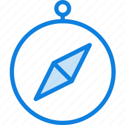 communication, compass, essential, interaction icon