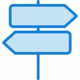 communication, essential, interaction, signpost icon