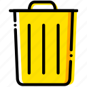 can, communication, essential, interaction, trash icon