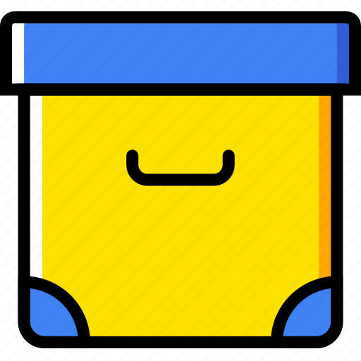 box, communication, essential, interaction icon