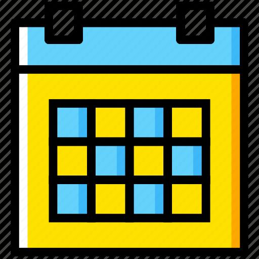calendar, communication, essential, interaction icon