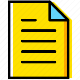 communication, essential, file, interaction icon