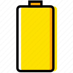 battery, communication, empty, essential, interaction icon