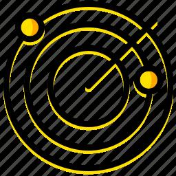 communication, essential, interaction, radar icon