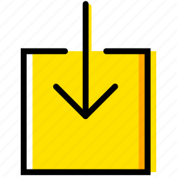 communication, download, essential, interaction icon