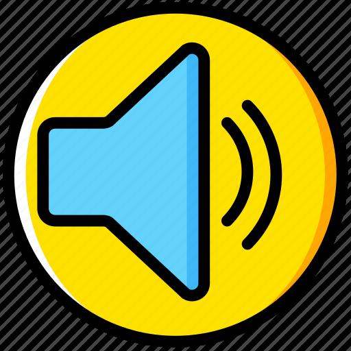 communication, essential, interaction, medium, volume icon