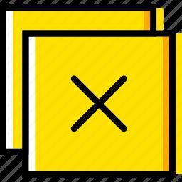 close, communication, essential, interaction, window icon