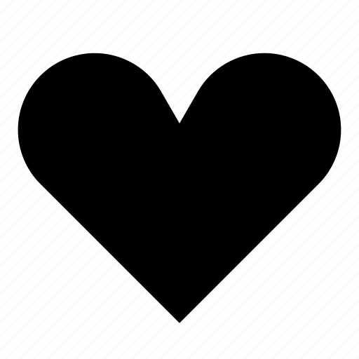 Heart, like, liked, love, solid icon - Download on Iconfinder