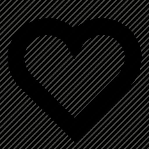 favorite, favourite, heart, like, love, romance icon
