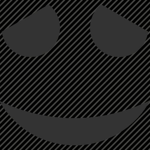 embarassed, emoticon, emotion, face, happy, smile, smiley icon