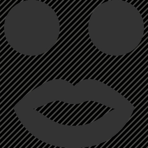 emoticon, emotion, face, lady, love, smile, smiley icon