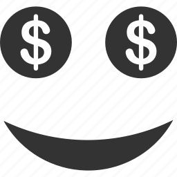 business, emoticon, emotion, face, lucky, smile, smiley icon