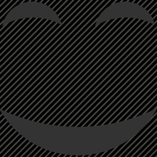emoticon, emotion, face, happy, pleasure, smile, smiley icon