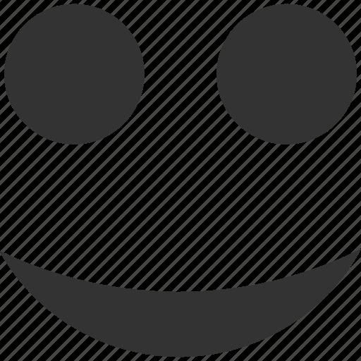 emoticon, emotion, face, good, happy, smile, smiley icon