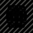 barrel, pirates, wooden icon