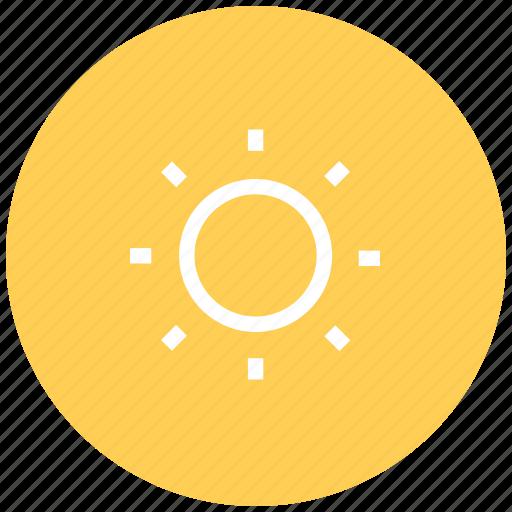 contrast, display, full brightness, light, screen, sun, weather icon