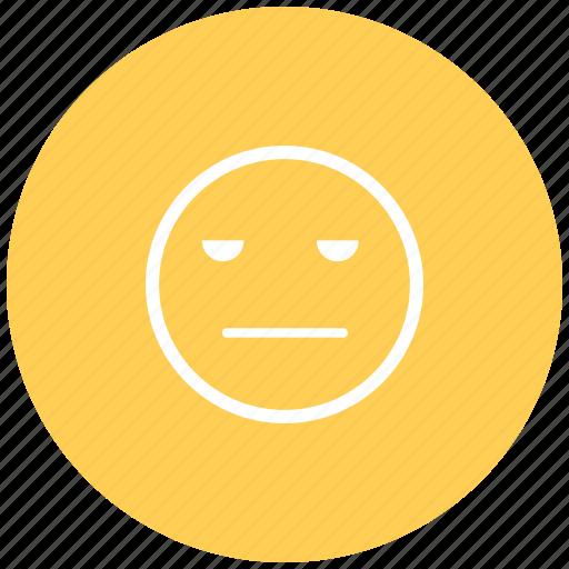 emoji, emotion, mood, neutral, sad, smiley, speechless icon