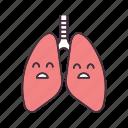 disease, human, lungs, problem, respiratory, sad, unhealthy