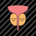 disease, gland, health, men, prostate, reproductive, sad