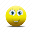 emoji, happy, happy face, smile, smiling face icon