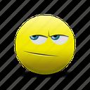 emoji, sad, thinking, thinking face icon