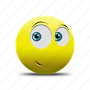 emoji, happy face, playful face icon