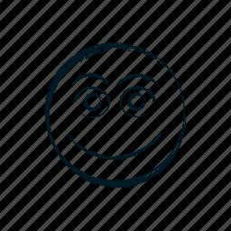 avatar, cheerful, cute, emoji, emoticon, emoticons, emotion icon