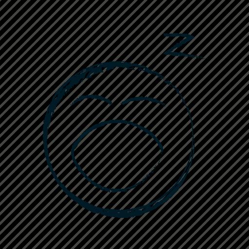 avatar, boring, dreaming, emoji, emoticon, emoticons, emotion icon