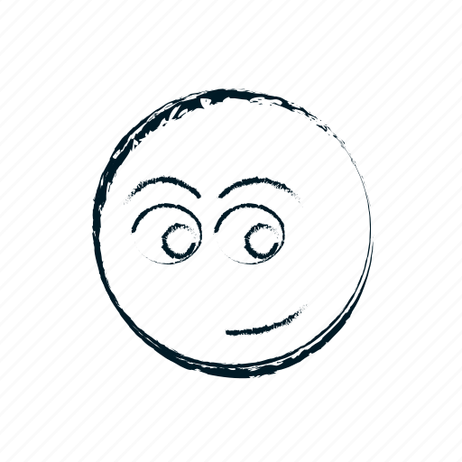 avatar, emoticon, emoticons, emotion, face, hand drawn, head, person, smile, smiley icon