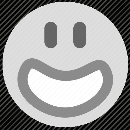 emotion, face, happy, smiley icon