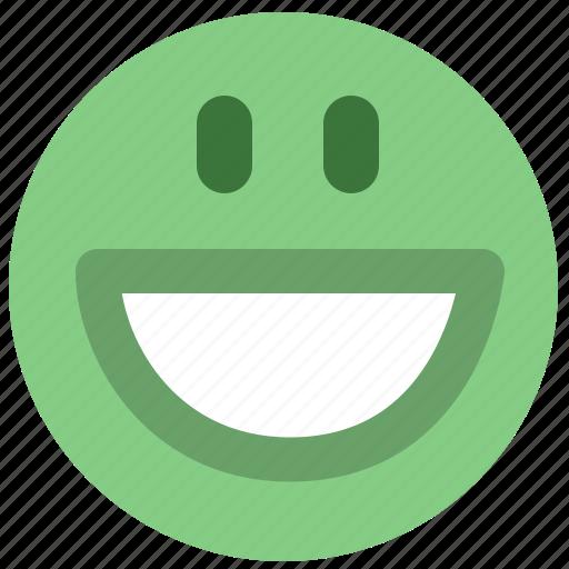g, smiley icon