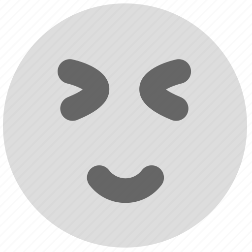 amiable, cute, emotion, face, lovely, smiley icon