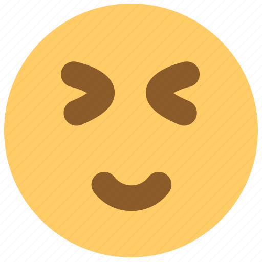 amiable, cute, emotion, face, lovely, smiley, wink icon