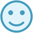 emoji, emoticon, face, happy, happy smile, smile, smiley face icon