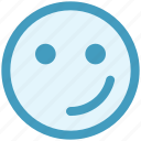 emoticons, expression, happy smiley, smiley, wink, winking smiley icon