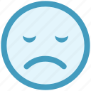 nodding, bemused face, emotion, smiley, sad face, emoticons, expression