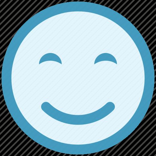 emoticon, face, happy, happy smile, smile, smiley, smiley face icon
