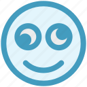 expression, eyes, face, funny, funny smile, rolling eyes, smiley icon