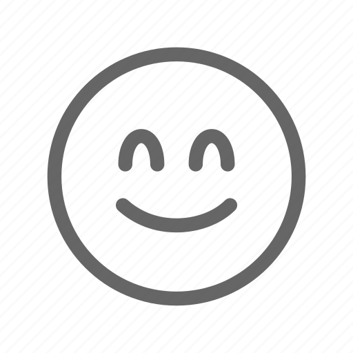 Emoji, emoticon, happy, smile, smiley, smiling face icon - Download on Iconfinder