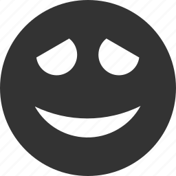 avatar, embarrased, emoticon, emotion, face, smile, smiley icon
