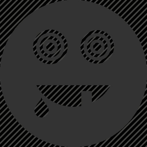 avatar, emoticon, emotion, face, maniac, smile, smiley icon