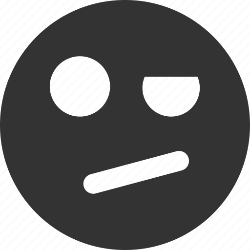 avatar, emoticon, emotion, face, negation, smile, smiley icon