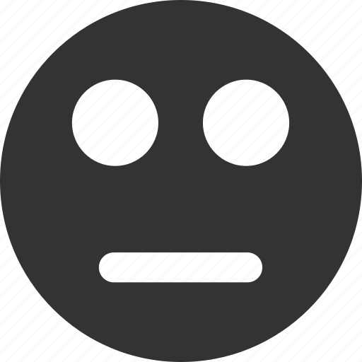 avatar, emoticon, emotion, face, neutral, smile, smiley icon