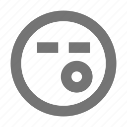 emoji, sigh, whistle icon