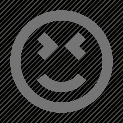 Smiley, emoji, happy, emotion, expression, face, head icon - Download on Iconfinder