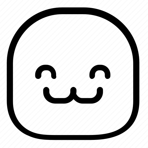 cute, emoji, emoticon icon