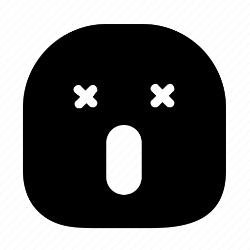 Emoticon, exhausted, tired icon - Download on Iconfinder